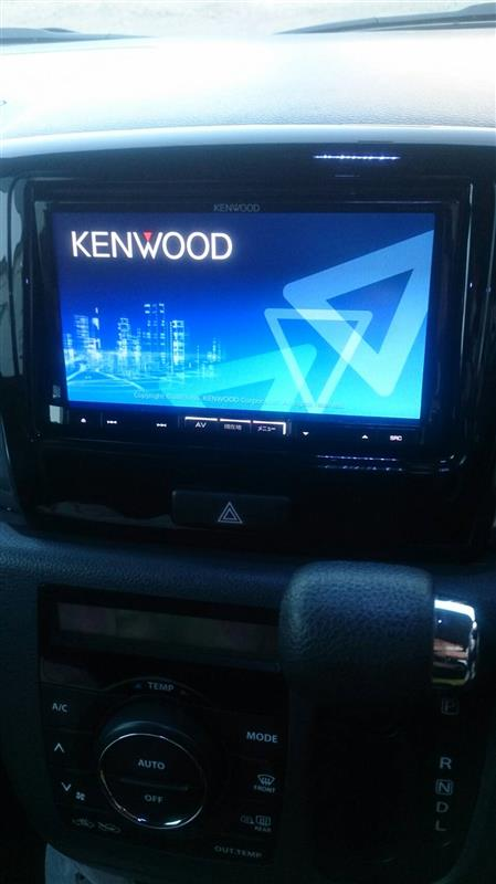 KENWOOD MDV-L500 不具合 修理