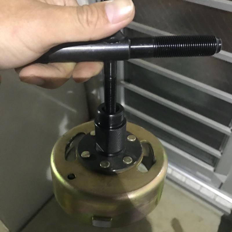 中華110cc エンジン振動対策