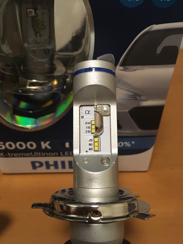 PHILIPS X-treme Ultinon LED H4 6000K 1