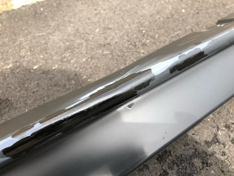 DIY外装修理[スポイラー修理編]その2