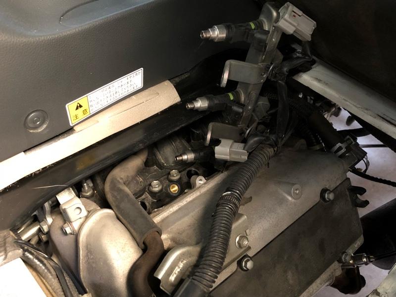 12ホールK6A NA55psインジェクター交換