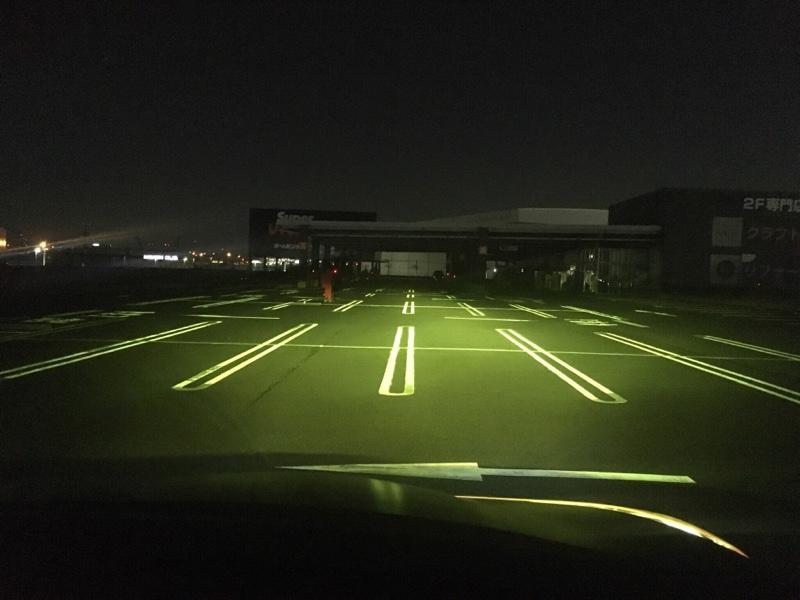 ヘッドライトカバー取付&比較