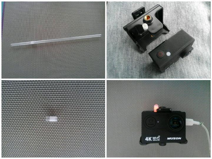 RF:ムソンのアクションカメラ