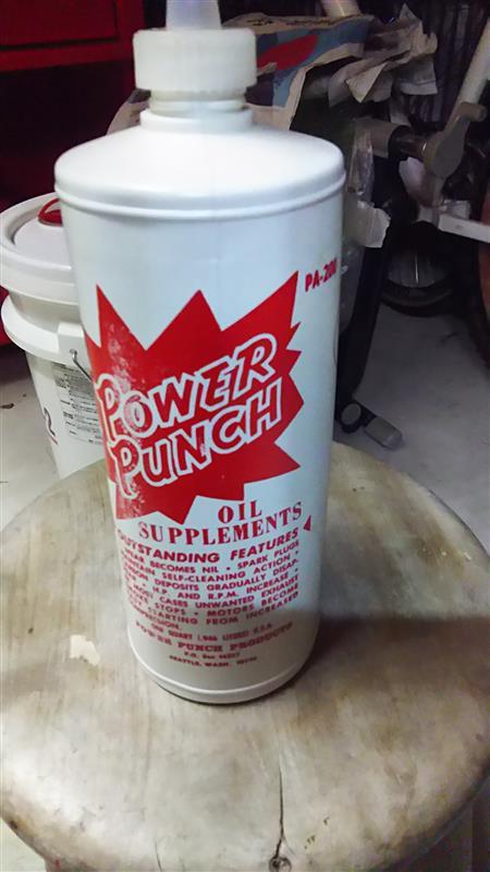 オイル添加剤 power punch 523860km