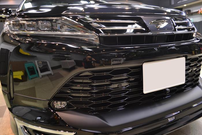 MODELLISTAエアロキットで美装 トヨタ・ハリアーのガラスコーティング【リボルト東京WEST】