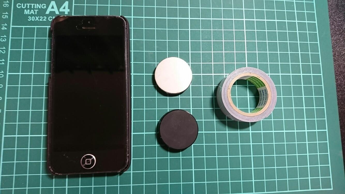 G-Bowl用iPhoneの設置