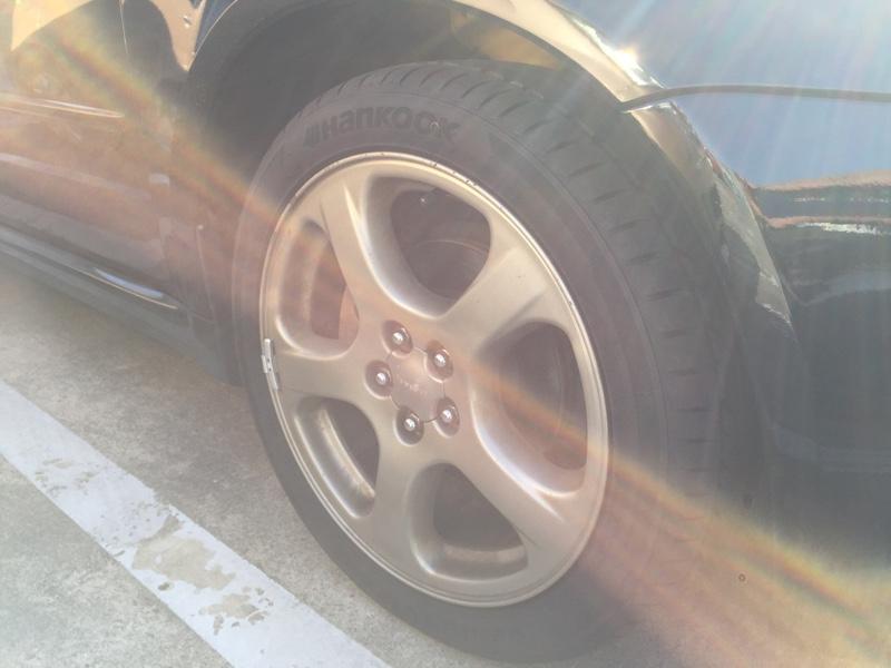 NEW タイヤ装着!