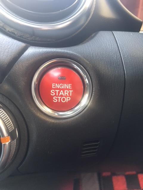 スタートボタン赤化