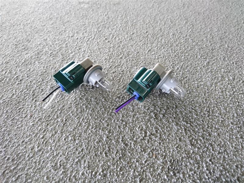 テールランプ4灯化