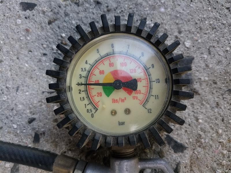 空気圧点検②