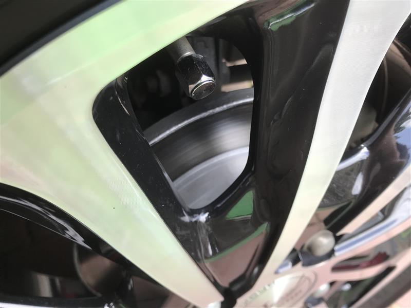 ローター(ハット)を塗装③