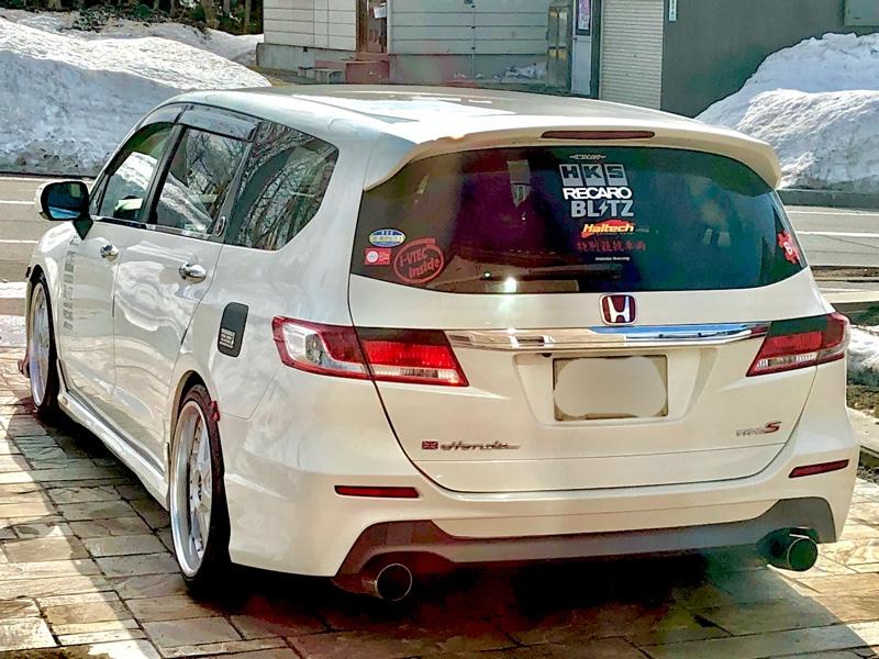 ワックス洗車(^^)