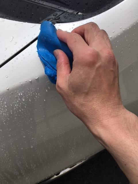久しぶりに洗車しました。