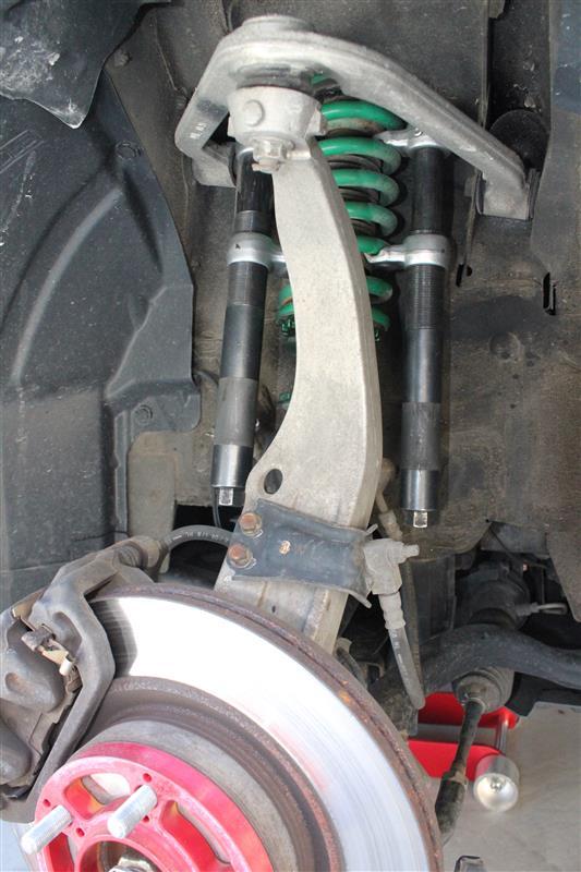 車高調整、タイヤ交換(111029km)