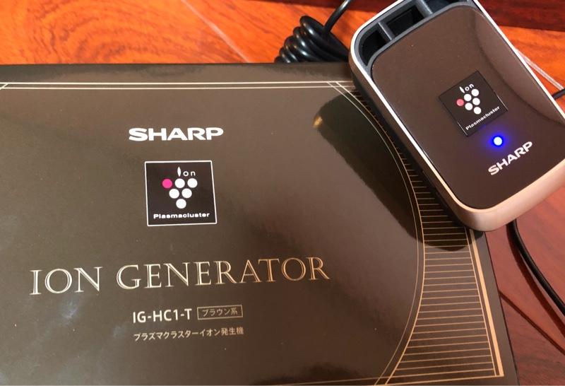 SHARP プラズマクラスターイオン発生機取り付け