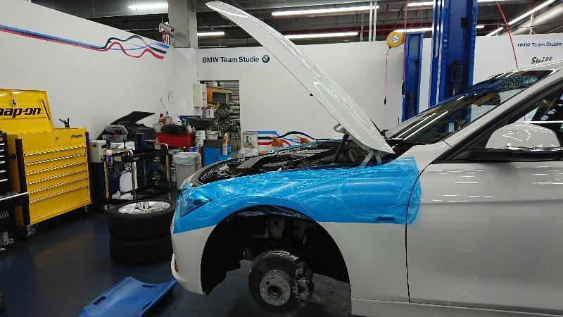 LARGUS Spec S  車高調 取付