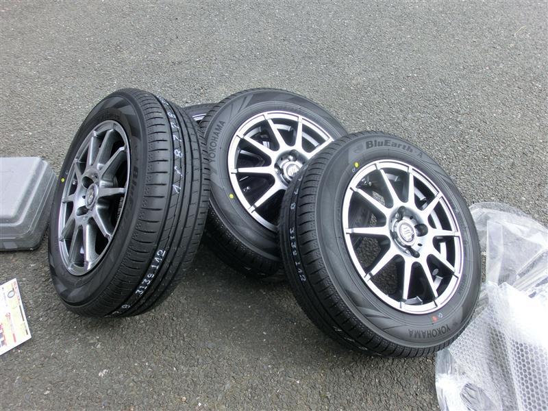 タイヤ再交換