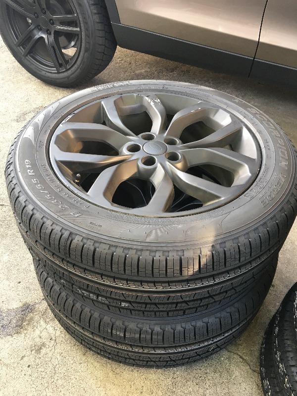 夏用タイヤ、新品ピレリに換装!
