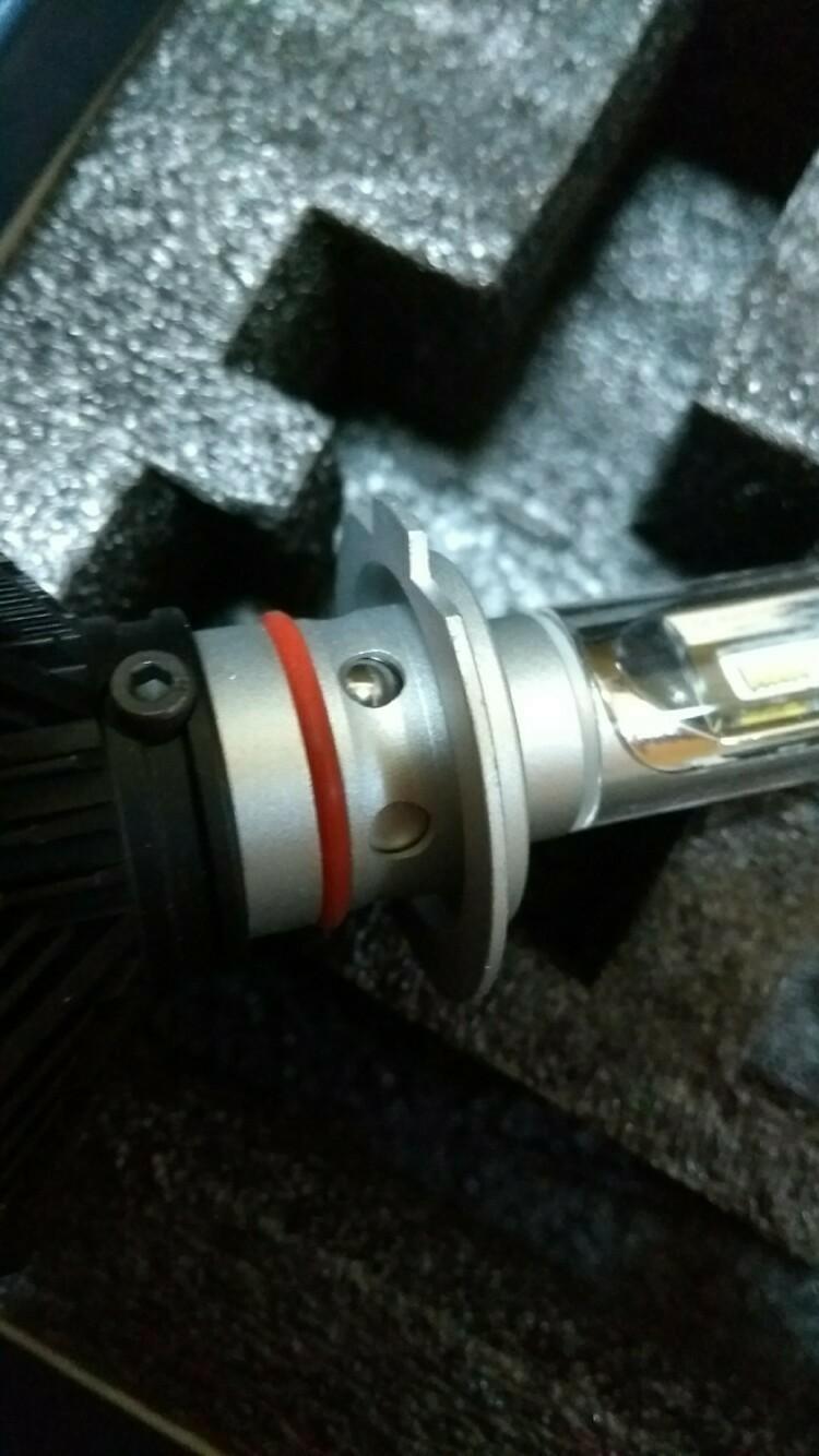 ヘッドライト、フォグランプ LED化