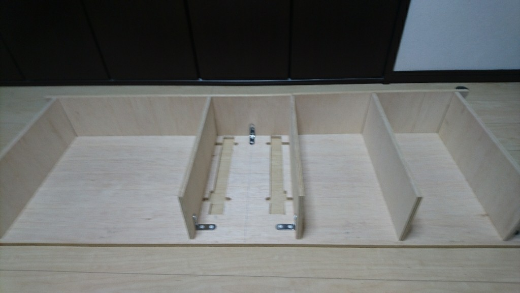 収納BOX作製①…の巻き