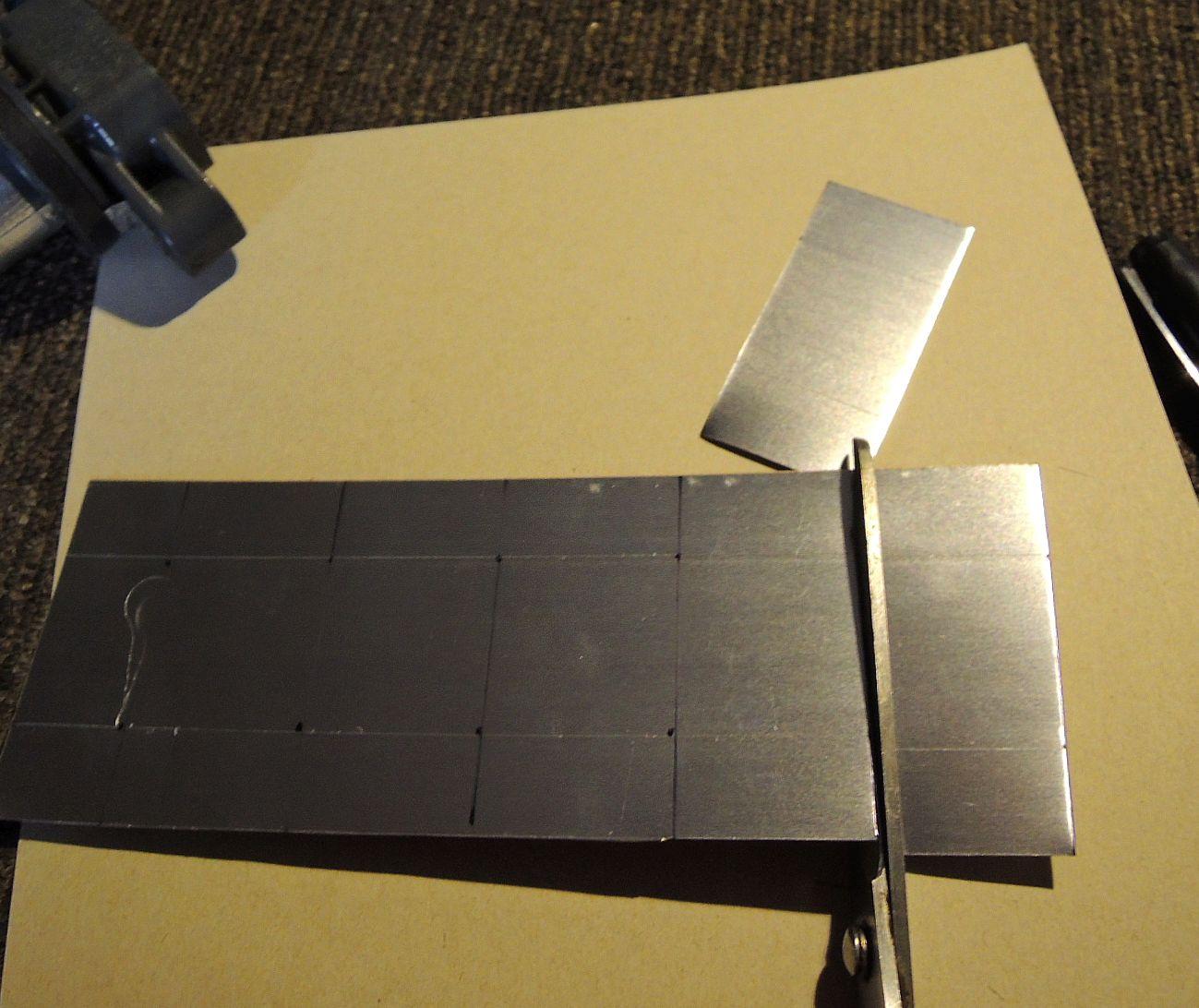 大ほげ研究室😊DIにアルミ板で磁石固定カバー🚗
