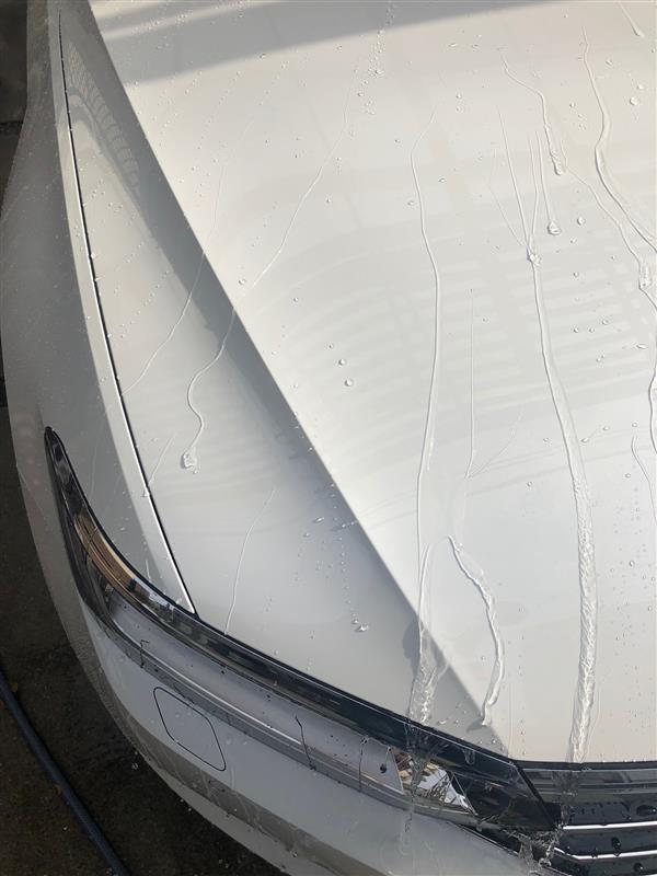 午後雨だけど洗車!