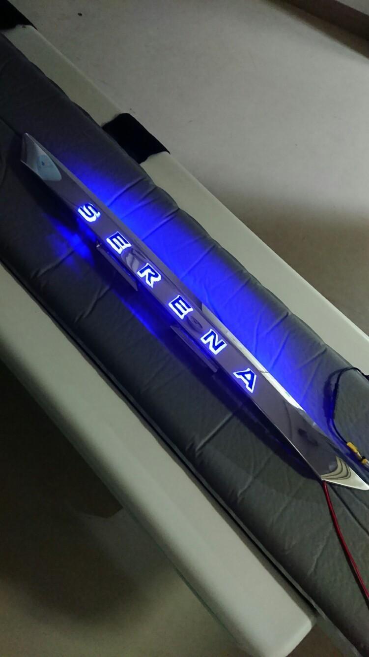 光るリアガーニッシュ 2号機制作①