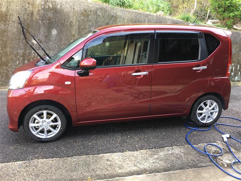 洗車の翌日、車がエライことになりました