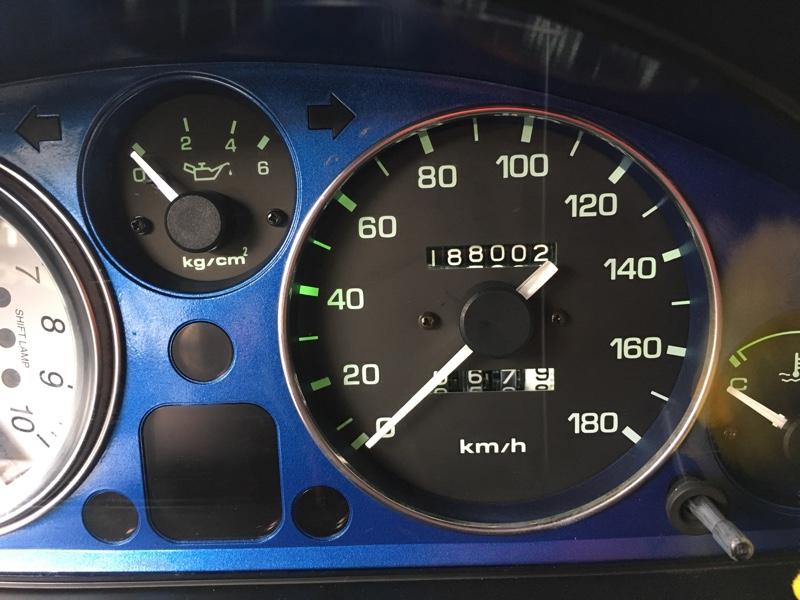 188002kmエンジンオイル交換&エンジンパワーシールド使用