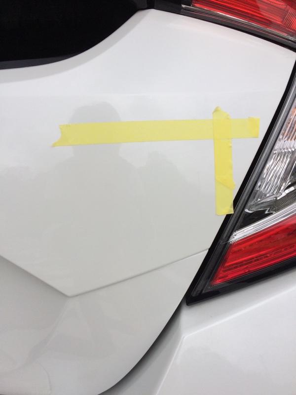 HONDA VTEC TURBO エンブレム 貼り付け
