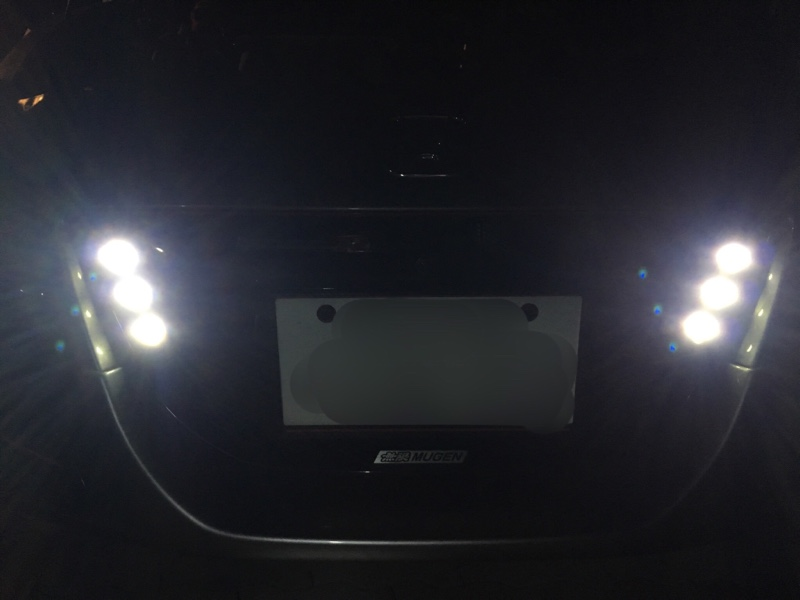 デイライト用連結LED-白 の交換。