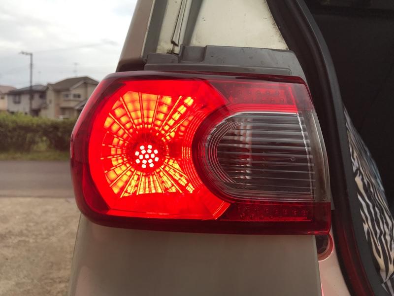 テールランプ LED化