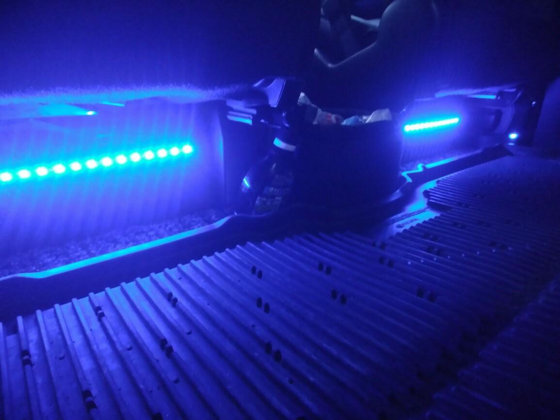 室内LEDを交換❗
