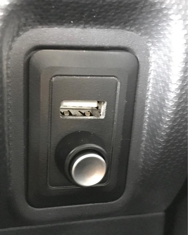 走行中ナビボタンアンドiPod接続