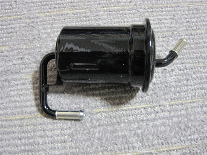 燃料フィルター交換