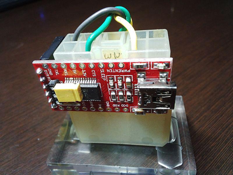 EvoScan(StiScan)用FTDI_SSMケーブルの製作