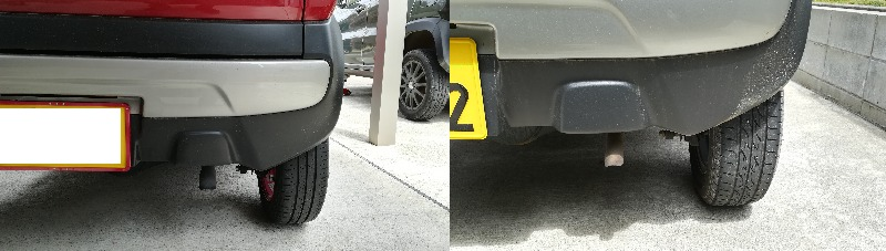 NAとターボのブレーキ比較
