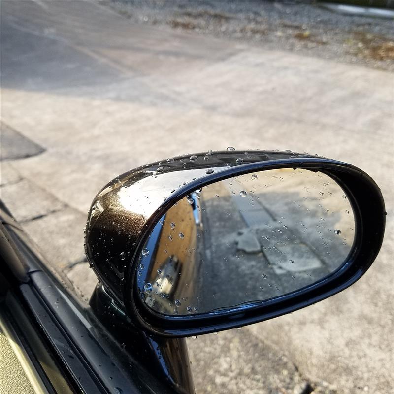 二日連続朝から洗車 ガラコversion