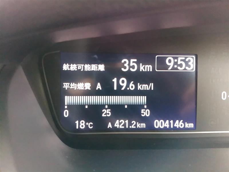 【新型N-BOX】平成30年4月14日の燃費記録【JF3】