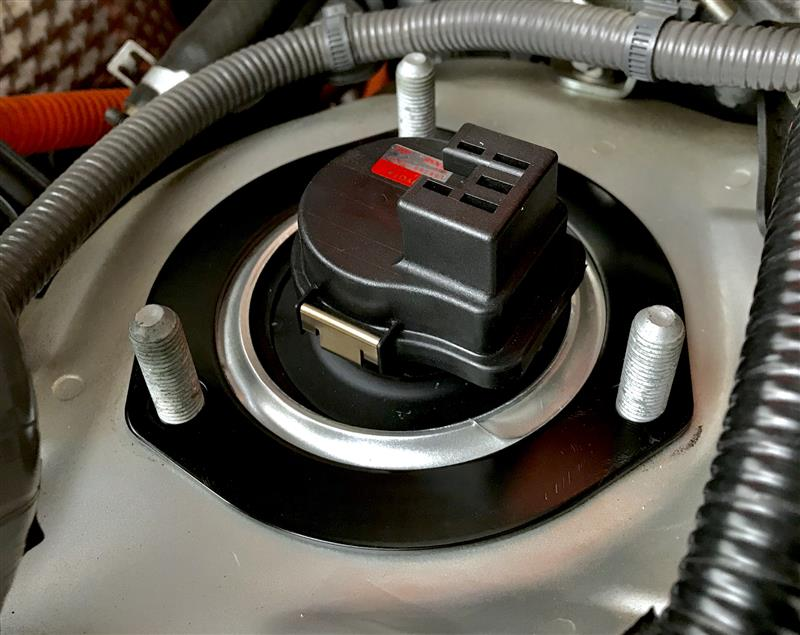トヨタ純正 フロントスプリングサポート リインホースメント取り付け
