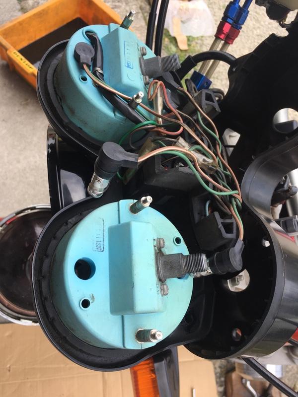 タコメーターの異音修理