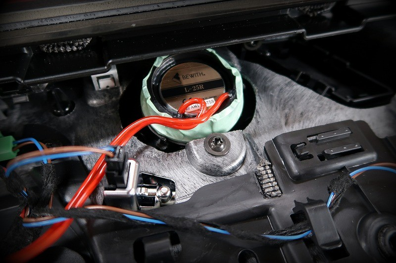 フロントSP「Reference AMシリーズ Duo165」に換装