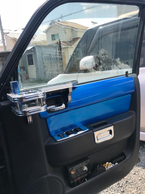運転席&助手席の窓ガラスにフィルム貼り