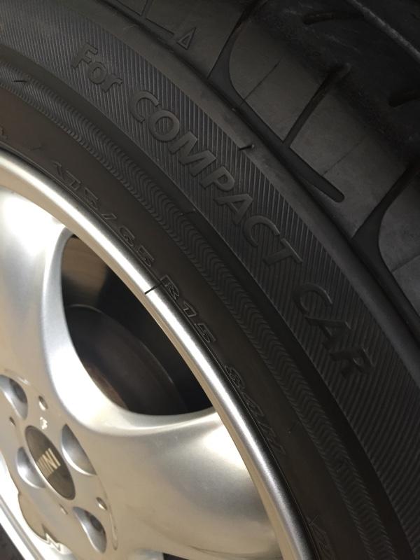 タイヤ交換(組み替え)