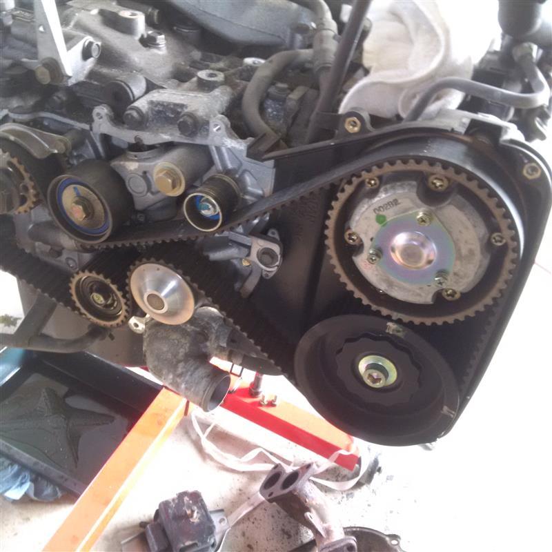 エンジン修理 ep1 ~ドナーエンジン分解~