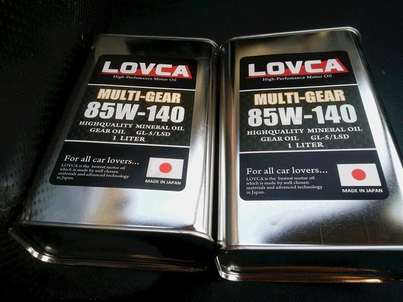 デフオイル交換(LOVCA)~備忘録