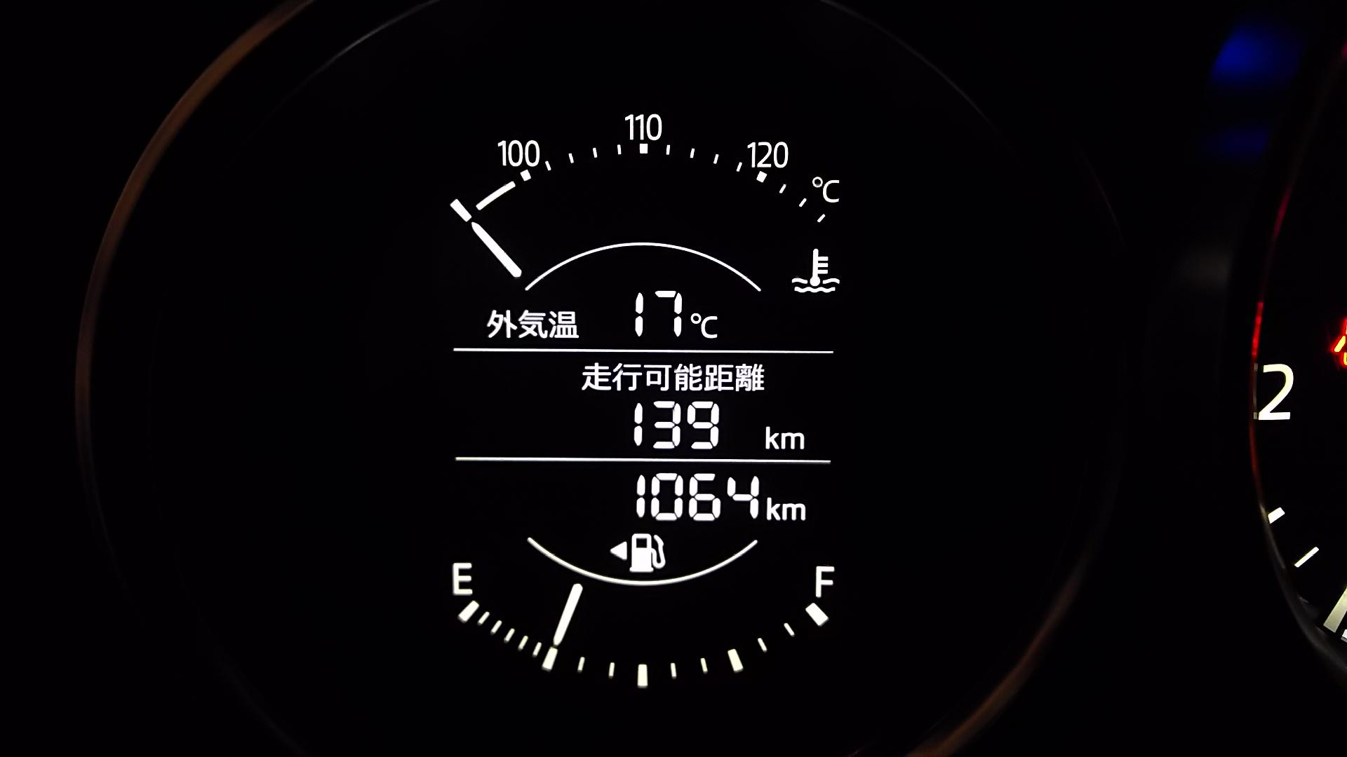 車高調整【1064km】