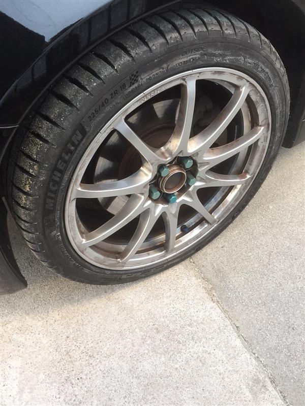 夏用タイヤに交換