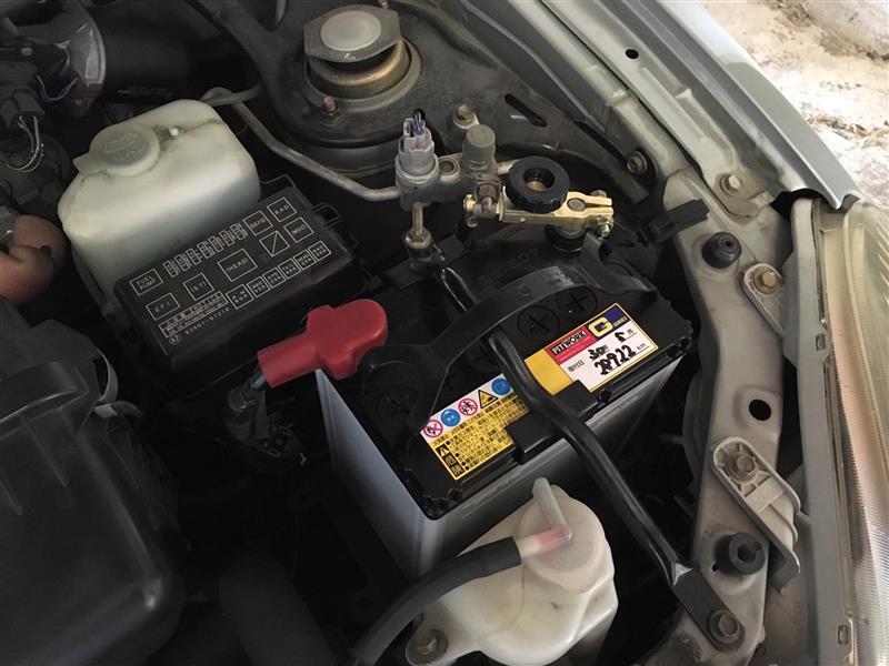 バッテリー カットオフスイッチ取付け