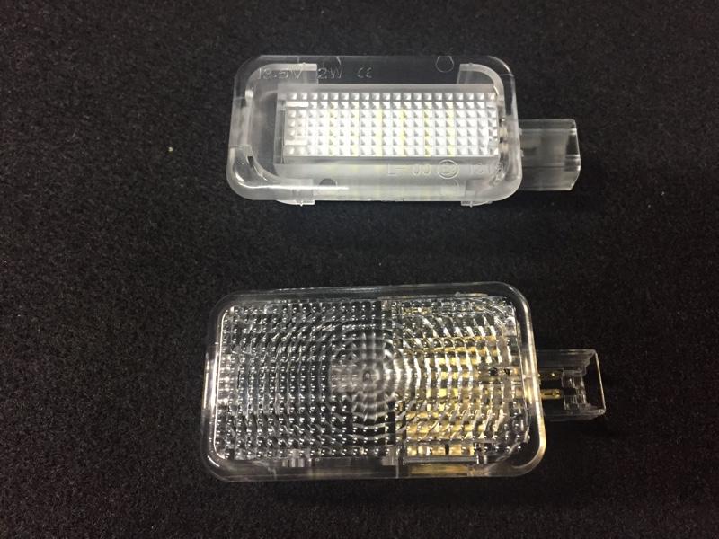 トランク ラゲッジランプ LEDユニット交換